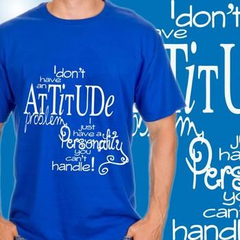 My Attitude Mens T-shirt