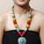 Turquoise Stone Tibetean necklace