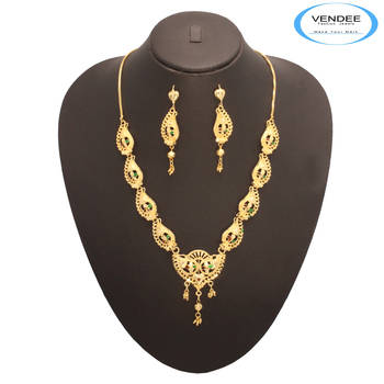 Vendee Fashion Fabulous 24 k Gold Plated