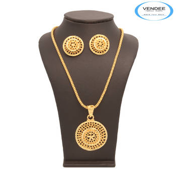 Vendee Fashion Designer 24 k Gold Plated