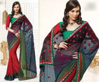 Zing Designer Sari 1202