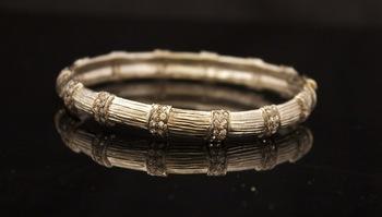 Zircon Studded Bracelet