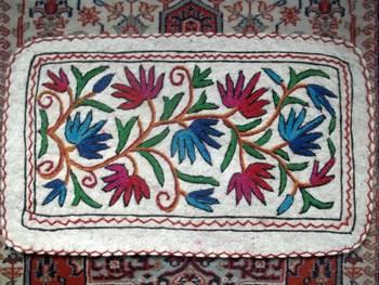 multi colour crewal namdha rug