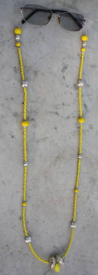 YELLOW SPECTACLE CHAIN- SINGLE
