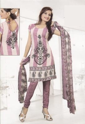 Crepe Dress Material Elegant Designer Unstitched Salwar Suit D.No 4324