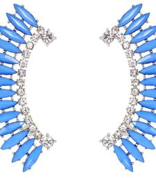 Buy Blue Princess Cuff Earrings gifts-for-sister online