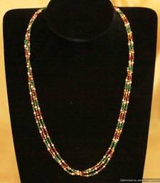 Buy Ethinc Multicolour Necklace gemstone-necklace online