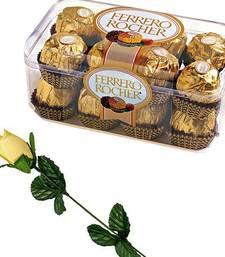 Buy Diwali Chocolates  Ferrero Rocher Chocolates n Rose chocolate online