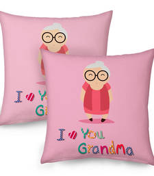 Buy I love You Grandma Decorative Print Cushions Pair gifts-for-mom online