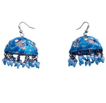 Traditional Jaipuri Earrings Fashion Jewellery