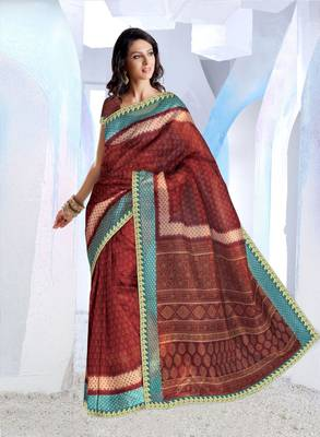 Designer SuperNet Sari magic1012