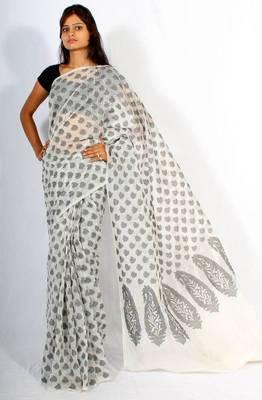 Banarasi cotton silk patola saree