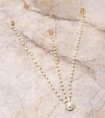 Pearl Drop 3 Chain Maatha Patti