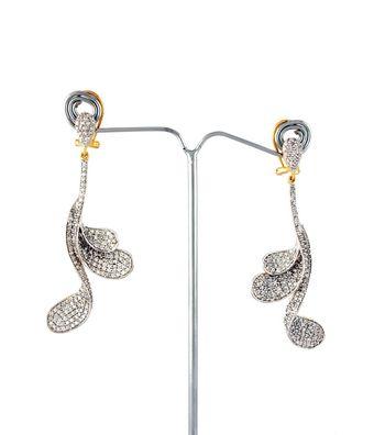Sihiri Beautiful Swan Earrings
