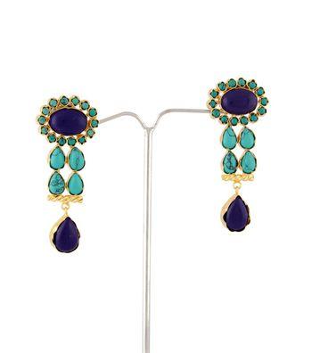 Sihiri Glorious Blue  Earrings