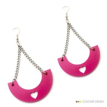 Swa Pink danglers