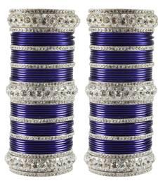 Buy Blue Crystal bangles-and-bracelets bangles-and-bracelet online