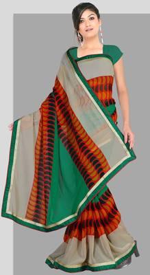 Elegant Indian Designer Sari Amaze189 B