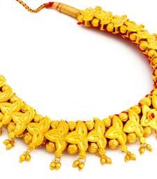 Buy Kolhapuri Belpaan Tik Necklace Necklace online
