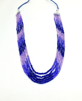 Blue Sapphire Look Shaded Strand