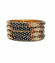Buy Black and red meena bangles-and-bracelets bangles-and-bracelet online