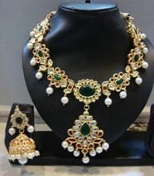 Buy Beautiful multicolor jewellery punjabi-jewellery online
