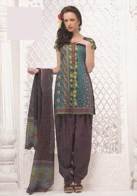 Dress Material Elegant Cotton Printed Unstitched Salwar Kameez Suit D.No 4027