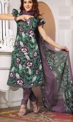 Cotton Dress Material Elegant Designer Unstitched Salwar Suit D.No 3175