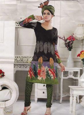 Cotton Dress Material Elegant Designer Unstitched Salwar Suit D.No 12022