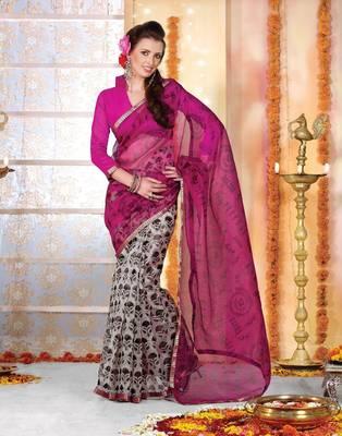 Designer Supernet Sari Jadoo1104