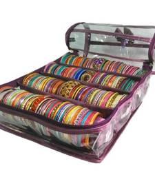 Buy Purple Bangle bag home-decor online