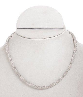 Silver Zircon Chain