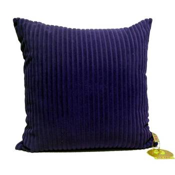 Quilted Velvet Stripe Cushion Cover