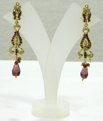 Fashion Bridal Bollywood Victorian Earrings