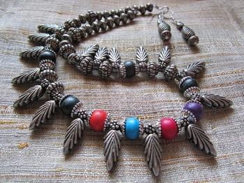 Oxidized jewelry