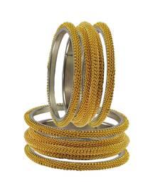 Buy Brass bangles color-Gold bangles-and-bracelet online