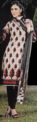 DESIGNER SALWAR KAMEEZ MATERIAL - Printed Cotton - RIYAA 902567
