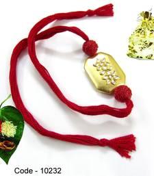 Buy Jewel Kundan work Rakhi rakhi-gift-hamper online