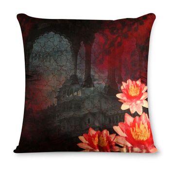 Tamara Lotus Charming Lake Cushion cover