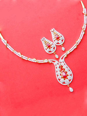 Elegant Necklace Set from Maayra