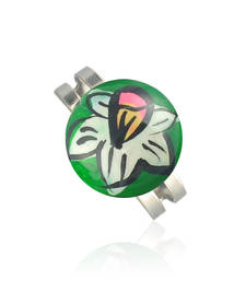 Buy Modern White Flora Ring Ring online