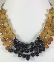 Buy SEMI PRECIOUS STONE NECKLACE Necklace online