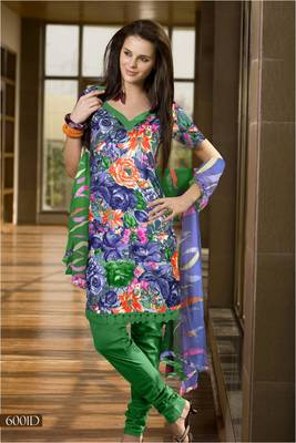 Designer Dress Material MASALA 6001 D