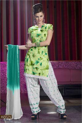 Designer Dress Material MASALA 6002 A