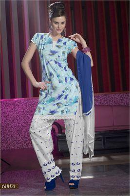 Designer Dress Material MASALA 6002 C