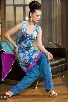 Designer Dress Material MASALA 6009 D