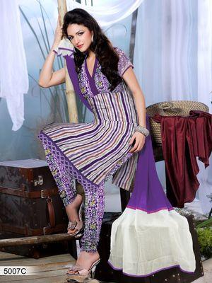 Designer Dress Material DRAPE 5007 C
