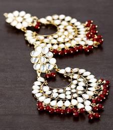 Buy Kundan Embellished Dangler Earrings 217ED28 pakistani-jewellery online